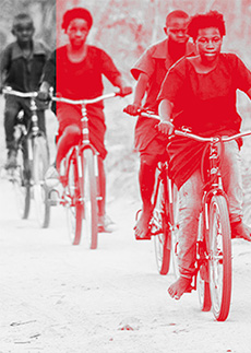 Christmas fizik - World Bicycle Relief